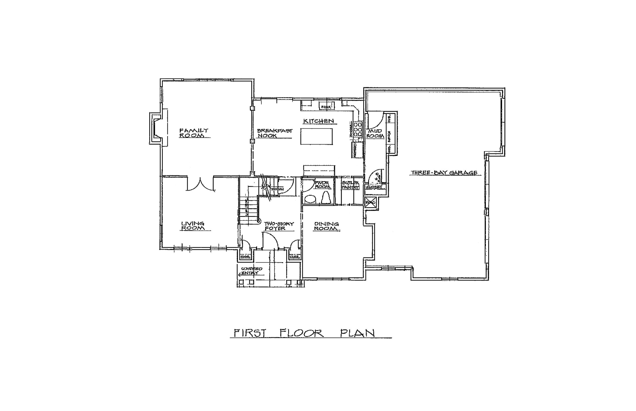 The Chaise 3096 Sqft Plan 1st Floor