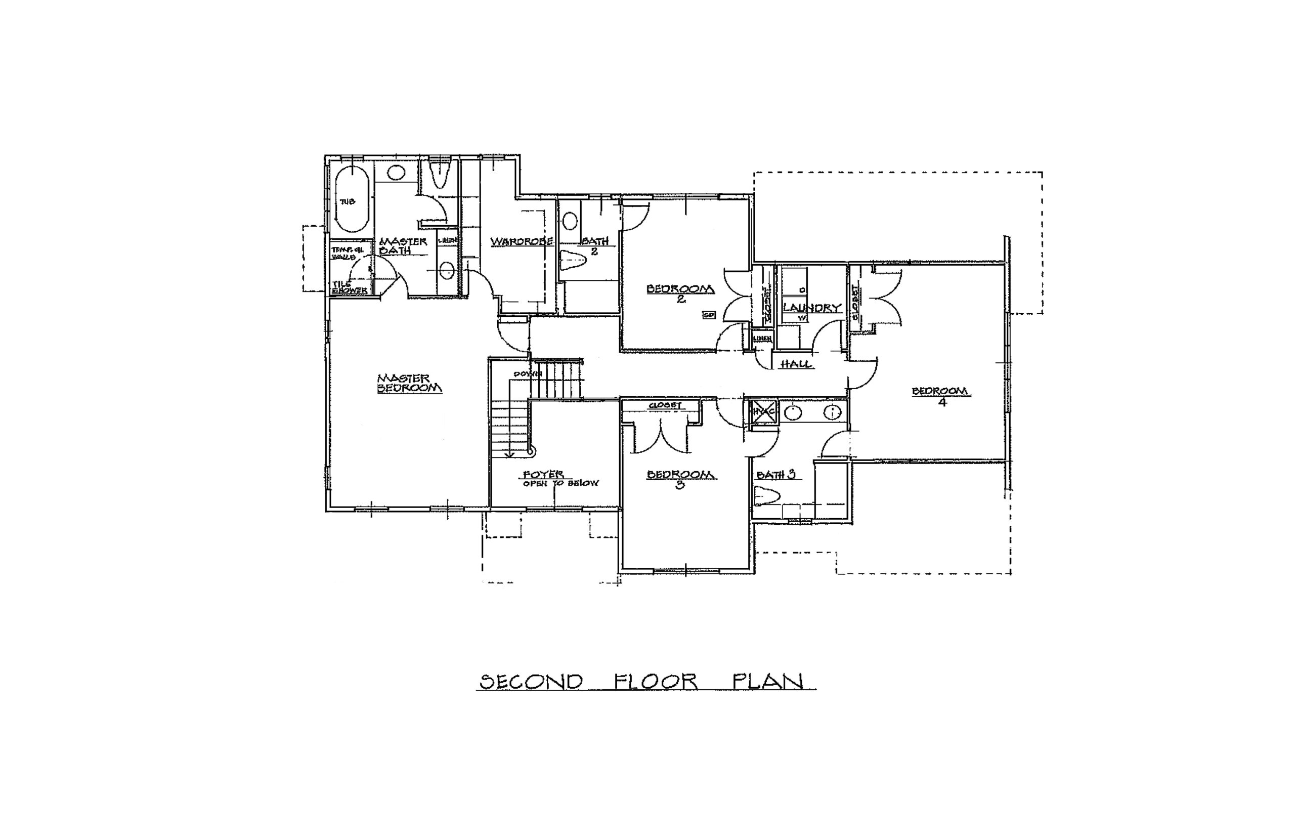 The Chaise 3096 Sqft Plan 2nd Floor