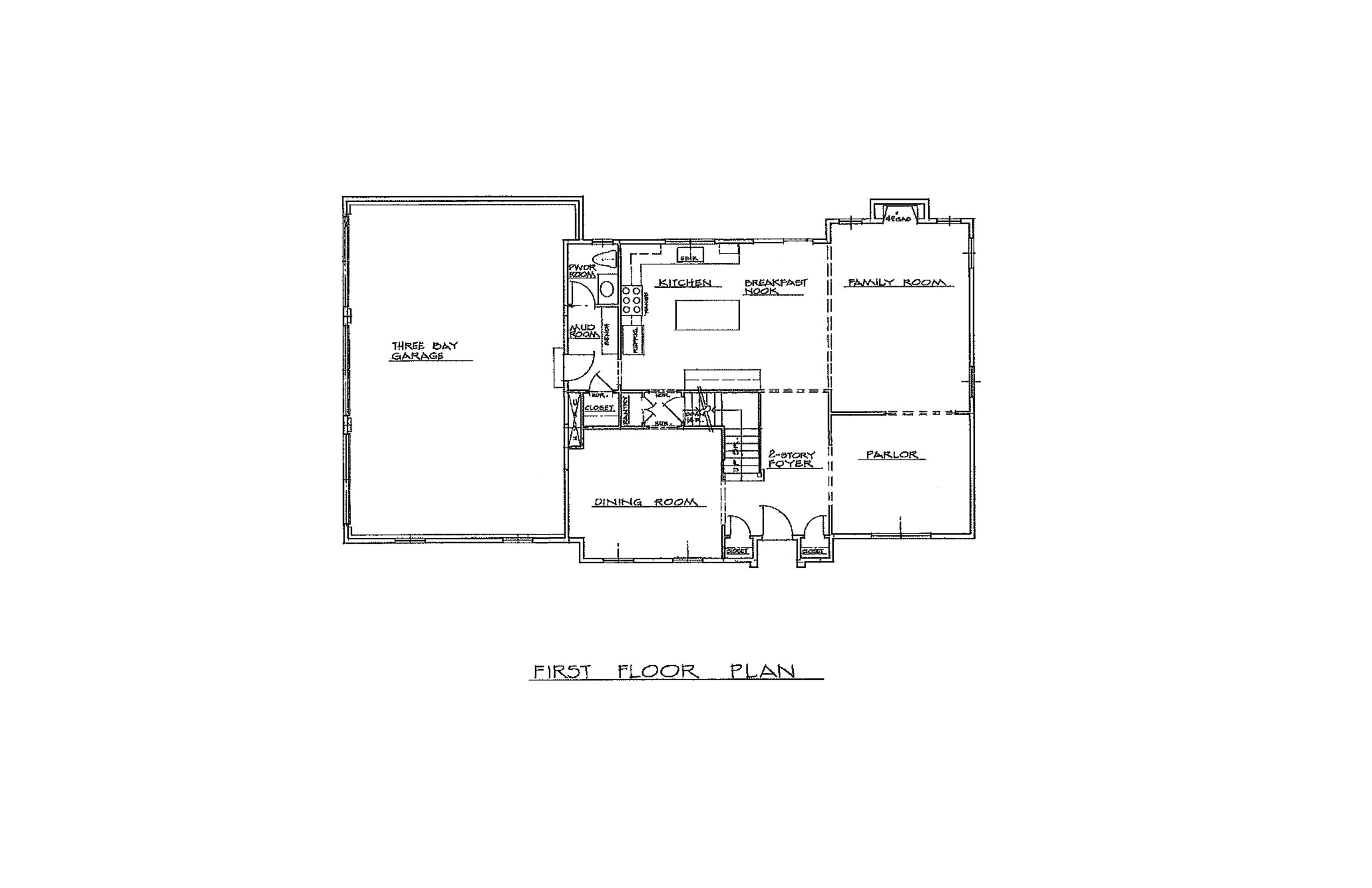 The Foal 3300 Sqft Plan 1st Floor