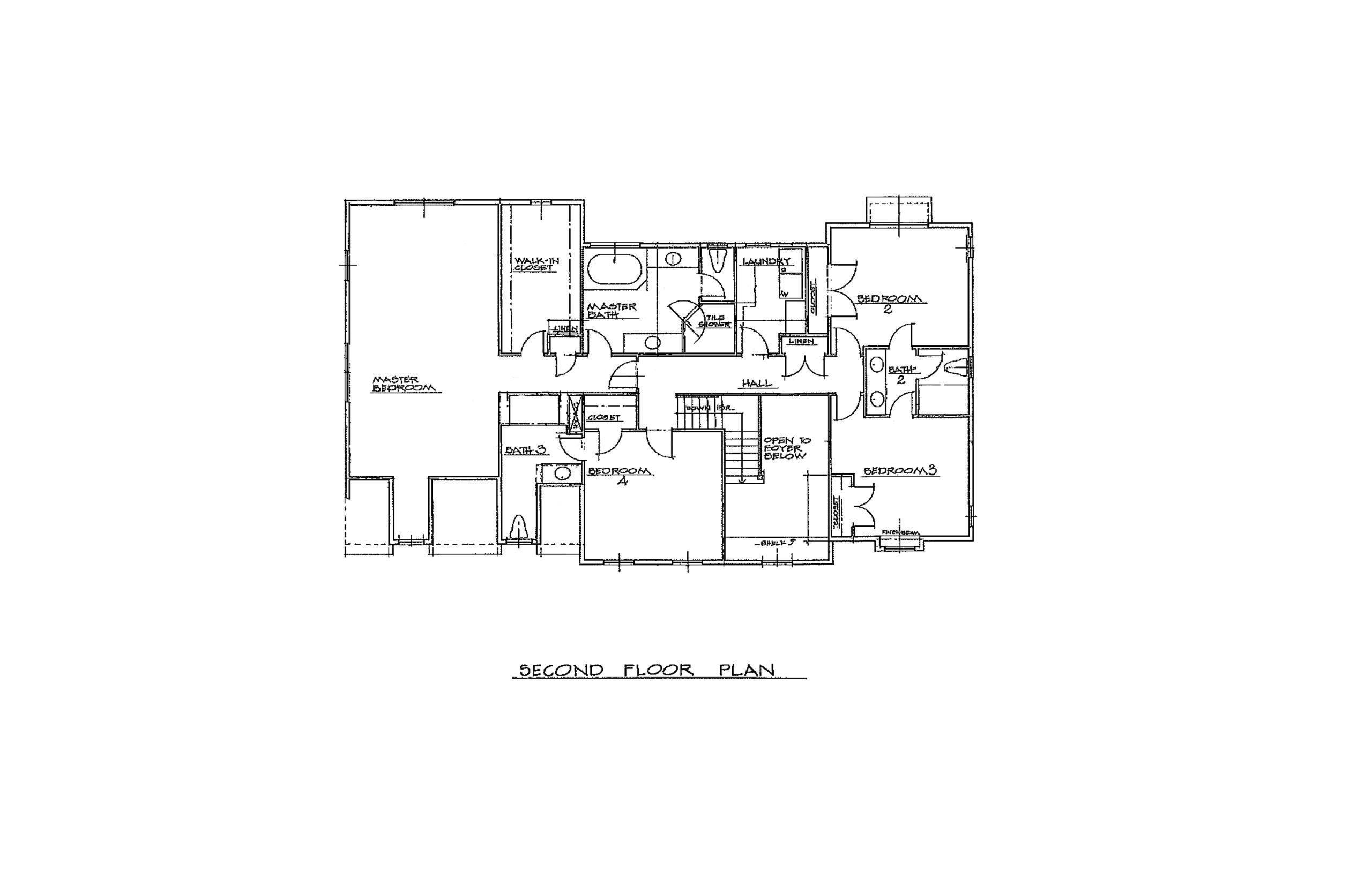 The Foal 3300 Sqft Plan 2nd Floor