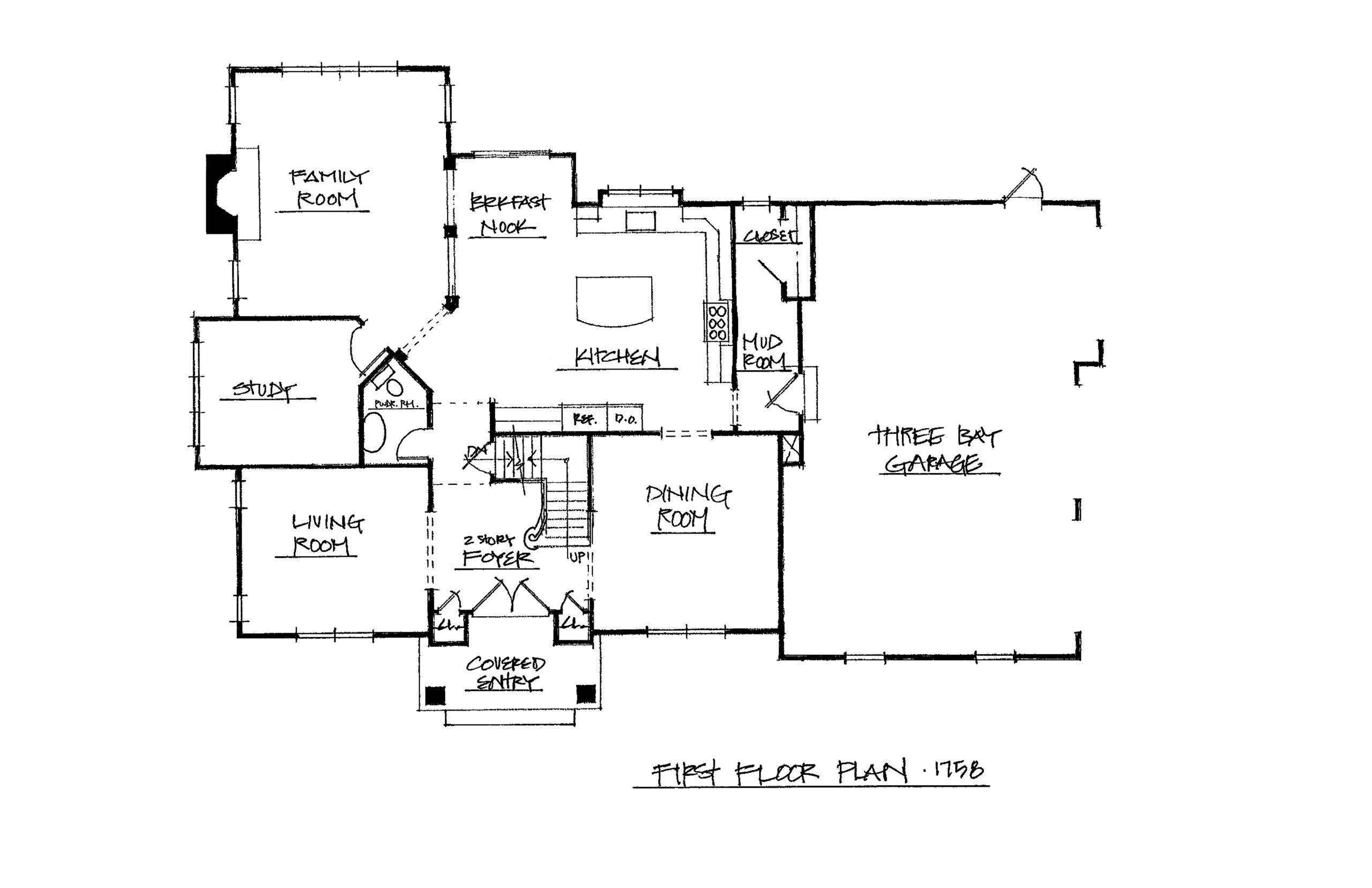 The Derby 3825 Sqft Plan 1st Floor