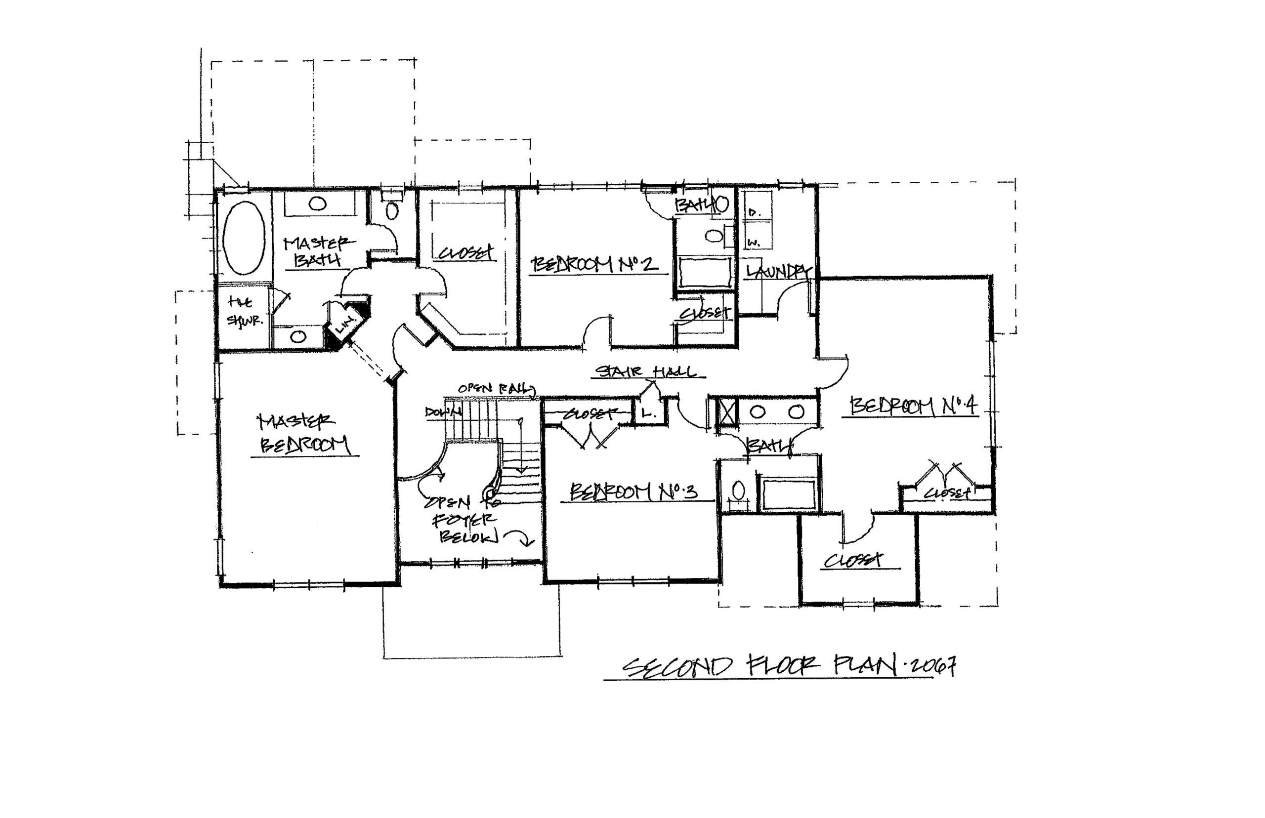The Derby 3825 Sqft Plan 2nd Floor