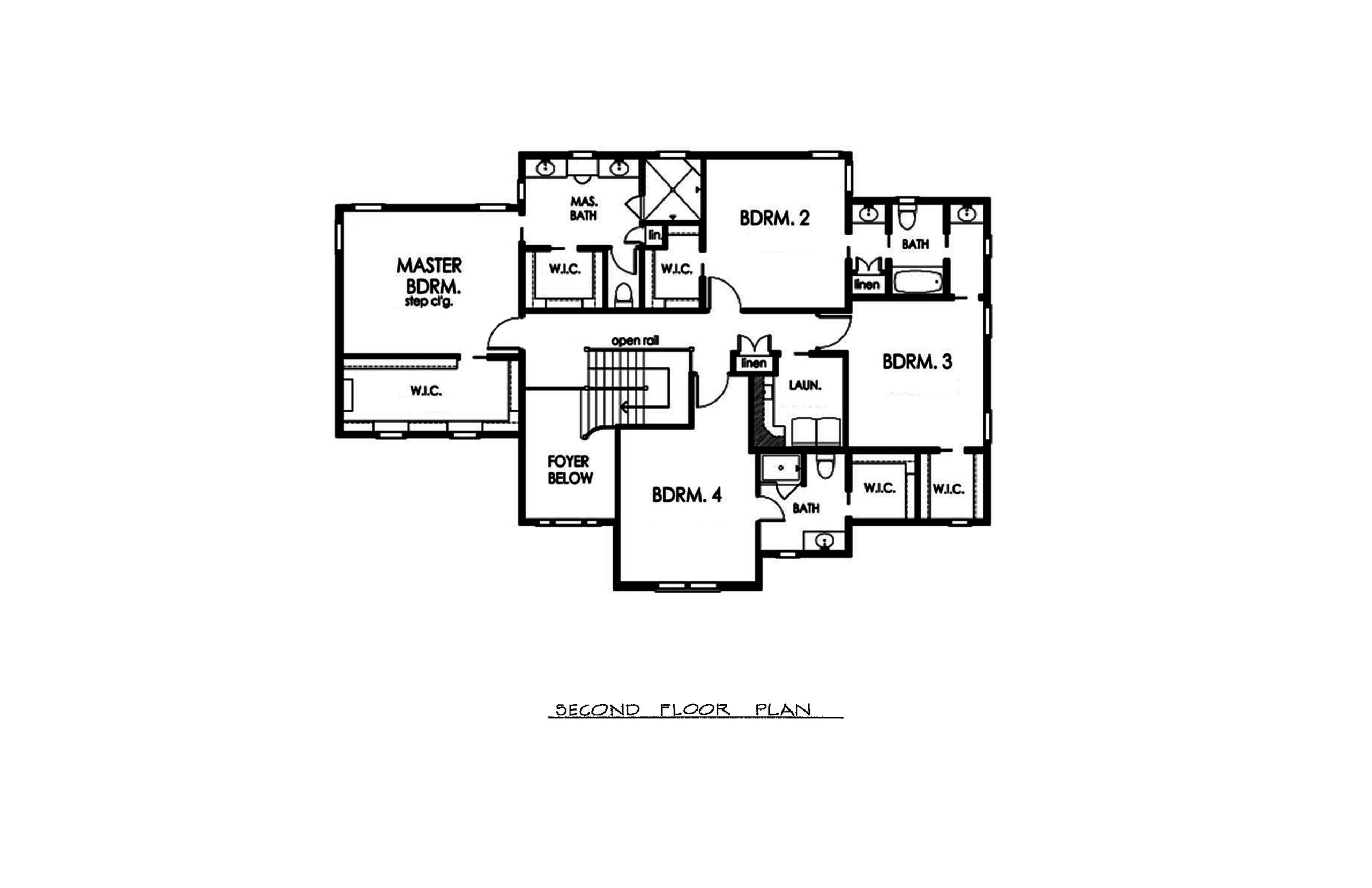 The Colt 3900 Sqft Plan 2nd Floor