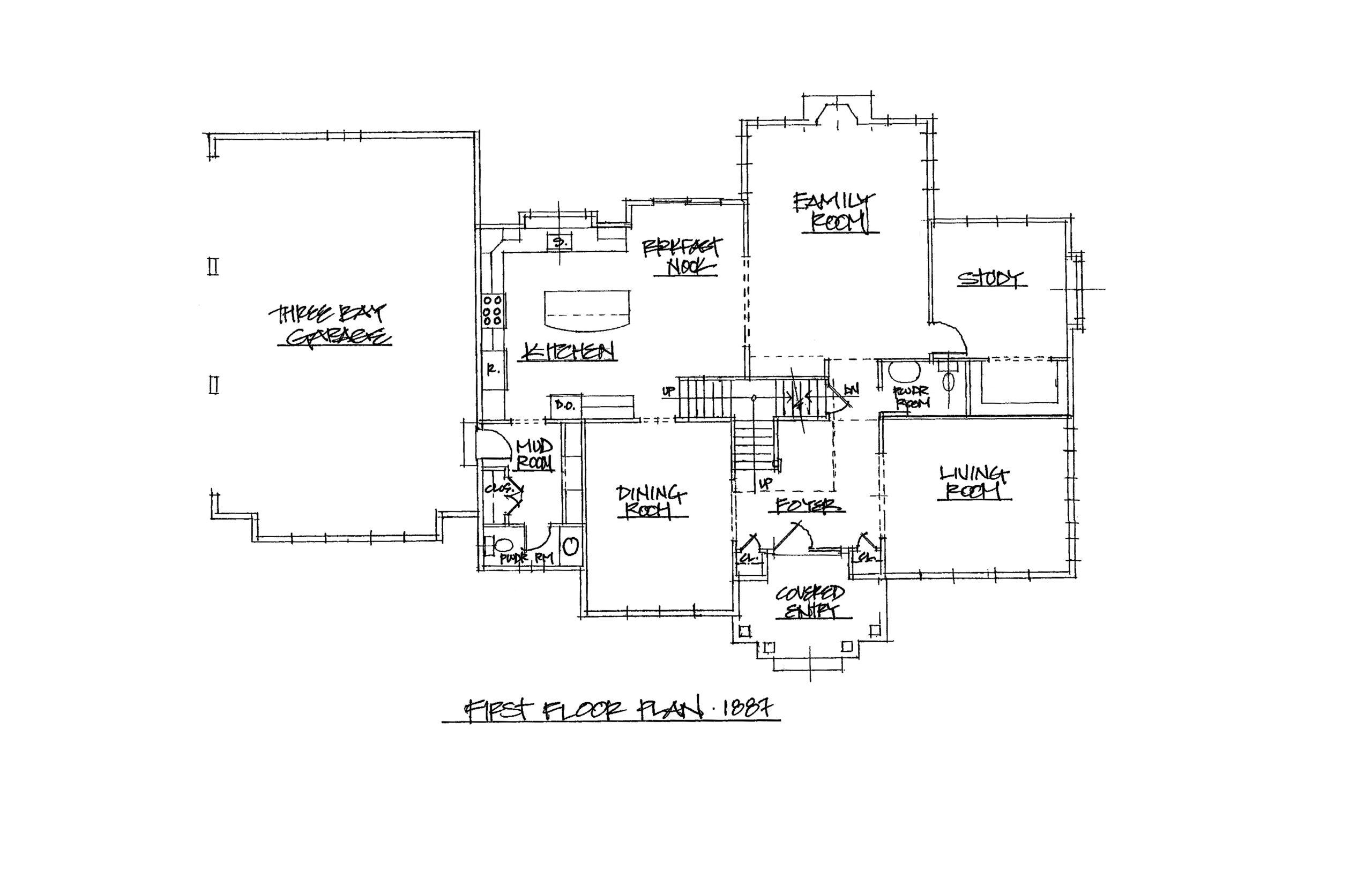 The Bridle 4039 Sqft Plan 1st Floor