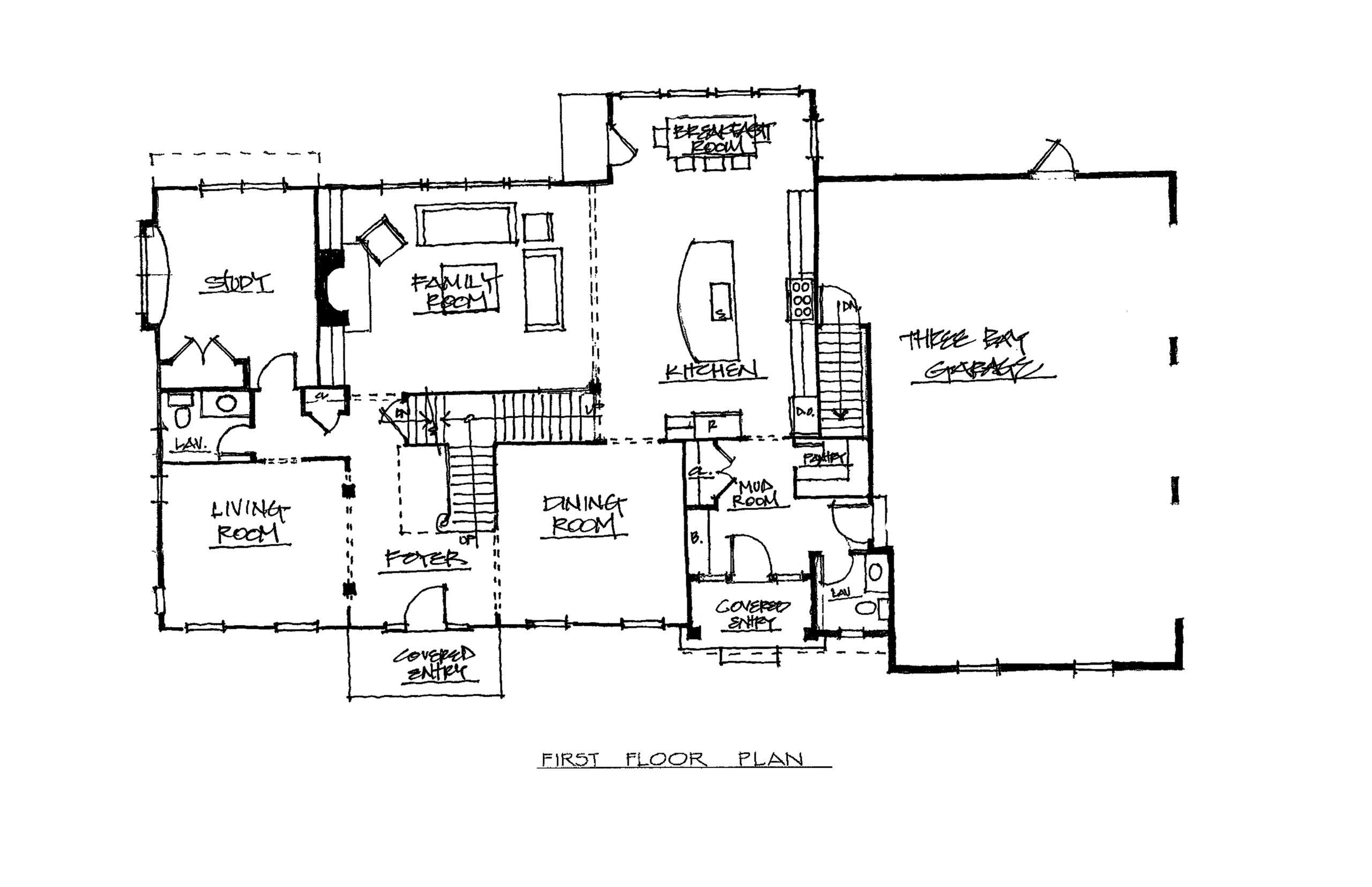 The Chevalier 4382 Sqft Plan 1st Floor