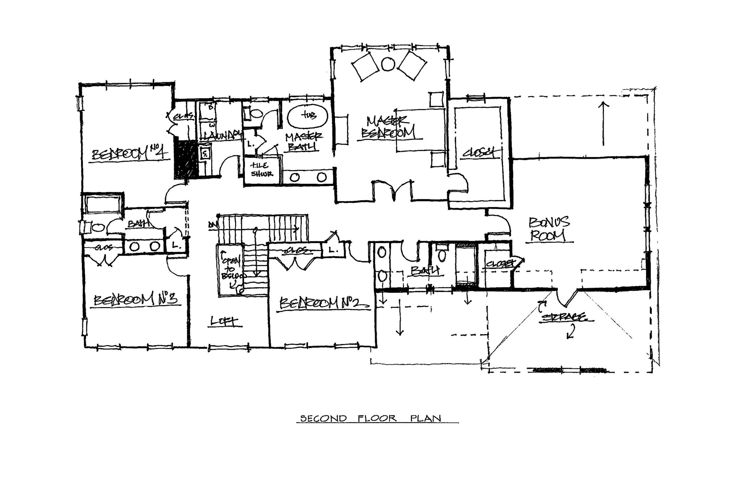 Stallion Ridge Homes | The Chevalier 4382 Sqft $1,101,500 2nd Floor